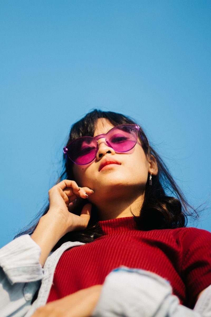 The sunglasses trend