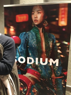 Sodium Magazine Launch Poster