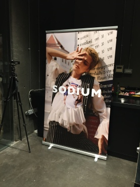 Sodium Magazine Launch Poster